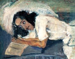 Chaim Soutine. La lectura