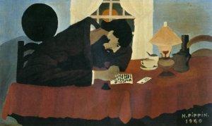 Horace Pippin, El escritor (1940)